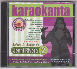 Jenni Rivera Karaoke CD G Pistas MI Vida Loca Las Malandrinas