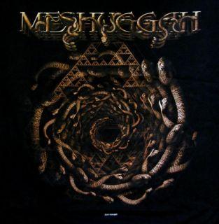 Meshuggah CD lgo Spiral of Snakes Official Shirt LRG New Koloss