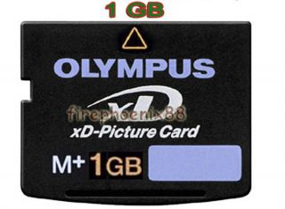 uk 1GB 1G XD MEMORY CARD TYPE M XD PICTURE CARD OLYMPUS FUJI NEW IN