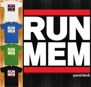 Run Memphis T Shirt Tennessee 901 Tigers Grizzlies Hip Hop New XS 4XL