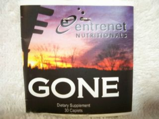 New Entrenet Nutritionals Gone Dietary Supplement Feel Happy Youthful