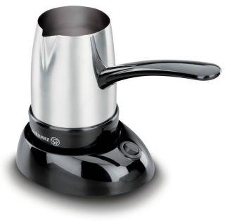 Electric Stainless Steel Turkish Greek Coffee Maker Pot Briki Kettle A