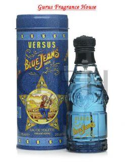 Blue Jeans by Versace 2 5oz 75ml EDT Mens Premium Authentic Cologne