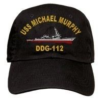 USS Michael Murphy DDG 112 Embroidered Cap U s Navy