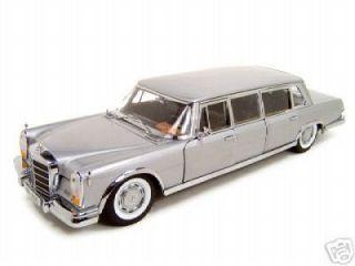 Sunstar 1966 Mercedes Benz 600 Silver Limousine 1 18