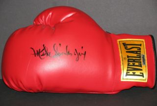 Michael Spinks Signed Everlast Boxing Glove The Jinx Autographed w