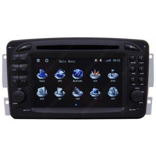 1998 02 Mercedes Benz SLK Class R170 Car GPS Navigation Radio TV iPod
