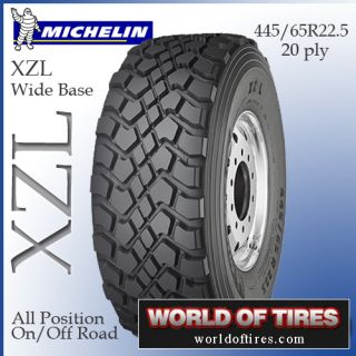 Michelin XZL 445 65R22 5 Semi Truck Tire 445 65R22 5