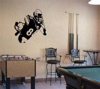 Large Hines Ward Pittsburgh Steelers Football Vinyl Wall Sticker Decal