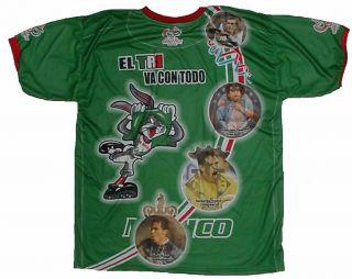 Mexico Futbol Soccer Jersey Seleccion Hecho En Mexico