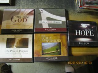 Lot of 5 Joyce Meyer Teaching CD All Listed
