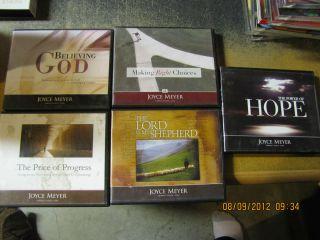 Lot of 5 Joyce Meyer Teaching CD All Listed