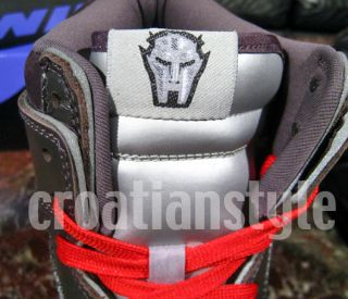 Nike Dunk High SB MF Doom Black Red Koston Skunk 7