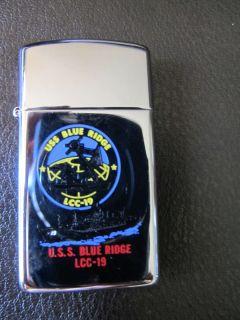 USS Blue Ridge LCC 19 Zippo Lighter