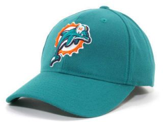 Reebok Onfield Licensed NFL Team Logo Hat Miami Dolphins One Size Fits