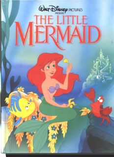 The Little Mermaid Disney Twin Books 1989 Large Form