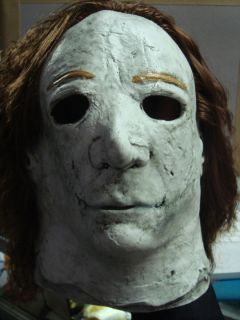 Michael Myers Full Head Halloween Deluxe Rob Zombie Latex Mask adult