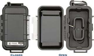 Pelican Micro Case Series iPhone iPod Touch Case Solid Black Finish