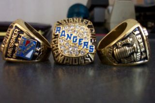 New York Rangers 1994 Replica Stanley Cup Ring Messier