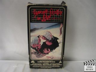 Young Doctors in Love VHS Michael McKean Sean Young