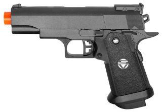 Airsoft Spring Pistol M1911 Colt 1911 Full Metal Gun M9 Black Replica