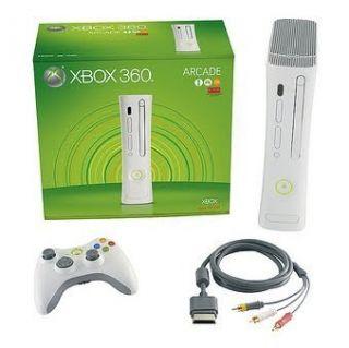 Microsoft Xbox 360 Arcade Console Jasper Complete System 90 Day