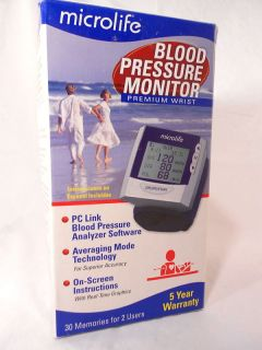 Microlife BP3AX1 Blood Pressure Monitor Premium Wrist