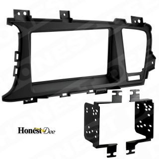 Metra 95 7345B Car Stereo Double D 2 DIN Radio Install Dash Kit for