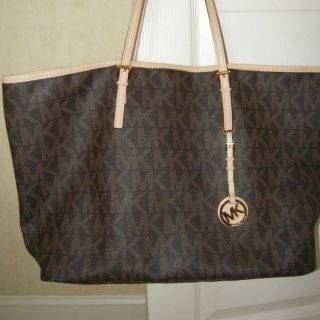 Michael Kors Brown Jet Set Travel