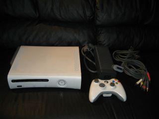 Microsoft Xbox 360 Complete Console System White w/ Original