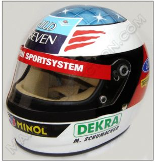 Michael Schumacher 1994 Ford Replica Helmet Scale 1 1