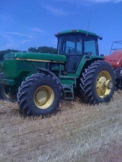 1993 John Deere 4960 4x4 Diesel Tractor