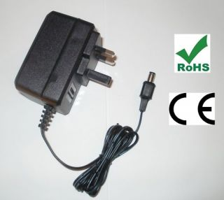 Lexicon Reflex MIDI Reverb Power Supply Replacement Adapter UK 9V