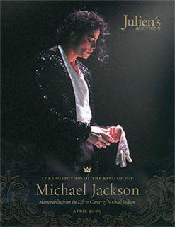 Michael Jackson Juliens Auction Memorabilia Catalog Juliens SEALED