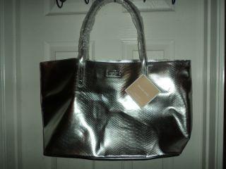 Michael Kors Silver Tote Bag