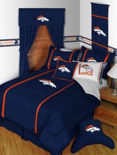 Denver Broncos Twin Full Queen Comforter Bedroom Sets MVP Save