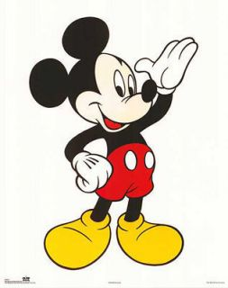 Micky Mouse Classic Poster Print 16x20 Walt Disney New