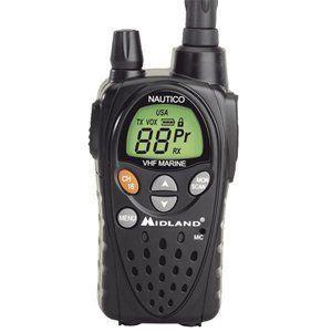 MIDLAND NT3 HANDHELD VHF 5 WATT WATERPROOF MARINE BOAT RADIO 12 MILE