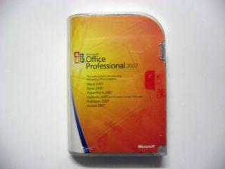 Microsoft Office Professional 2007 Full Version for Windows CD Prod