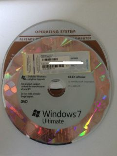 Windows 7 Ultimate 32 Bit 64 Bit