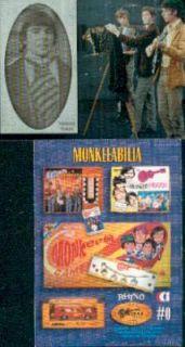 THE MONKEES CORNERSTONE ALBUM BINDER 0 CARD MIKE NESMITH TORK DOLENZ