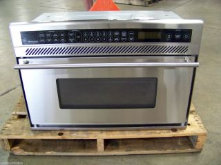 GE MONOGRAM STAINLESS MICROWAVE CONVECTION OVEN ZMC1095SSF 61 off
