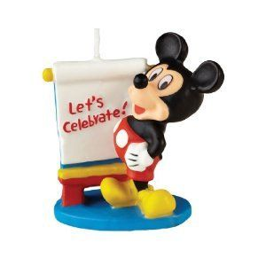 Mickey Mouse Clubhouse Birthday Party Cake Candle