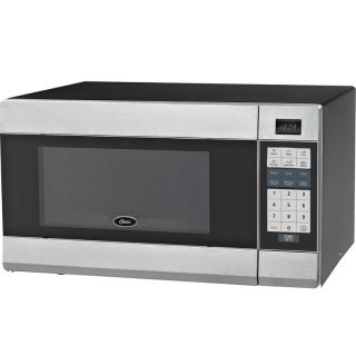 Stainless Steel Microwave Oven, Digital 1000 Watt Countertop Cooker w