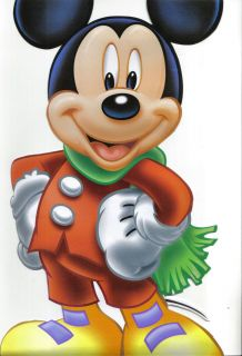 Disney Mickey Mouse Miki Maus Kids Vinyl Decal Wall Sticker Decor