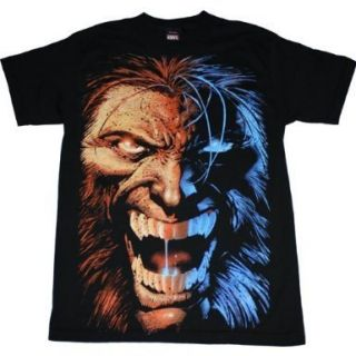 Black Shirt Dress on Wolverine Midnight Snack Angry Face T Shirt Black Tee Marvel X Men