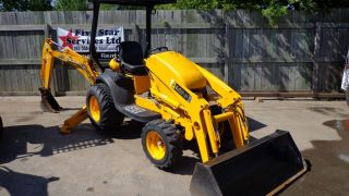 2007 JCB Mini CX Mini Tractor Loader Backhoe TLB 2 Wheel Drive