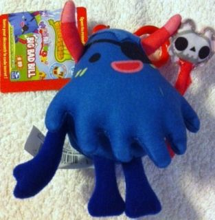 Plush BIG BAD BILL w Secret Code Mind Candy Cute Spookie Moshling