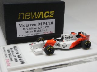 MP4 10 Brazilian GP 1995 Mika Hakkinen Tameo Kit 1 43 TMK194