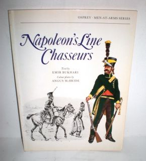 Military Book Osprey Maa 68 Napoleons Line Chasseurs 18 1st Ed Op